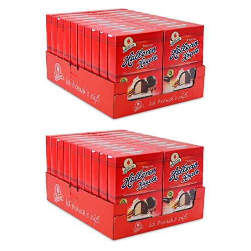 40er Pack Original Halloren Kugeln SAHNE-CACAO (40 x 125 g) - Motiv der Verpackung kann abweichen - Schokolade, Schokoladenkugeln, Pralinen