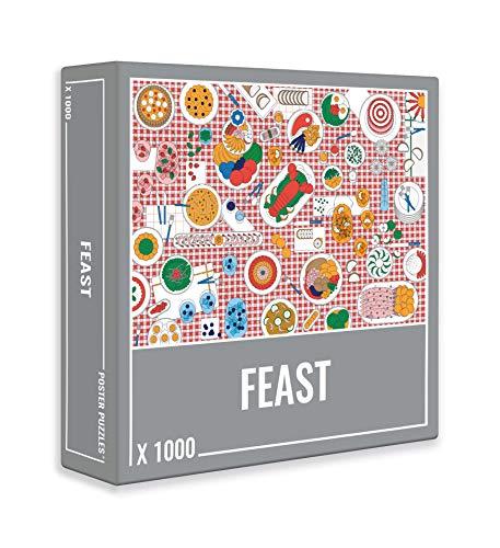 Feast – Buntes Lebensmittel Puzzle für Erwachsene (1000 Teile)