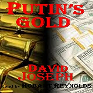 Putin's Gold audiobook cover art