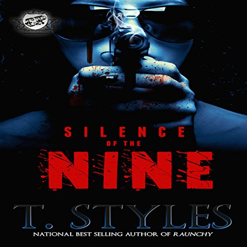 Silence of the Nine audiobook cover art