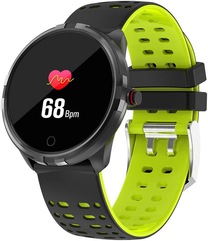 WLPT Fitness-Tracker Smartwatch, wasserdichte Smartwatch Kalorien-   Schrittzhler Mnner Frauen Draussen Intelligente Sportuhr Android und iOS,Grün