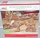 Ninjabread Ninja Cookie Kit Mix w/4 Cookie Cutters