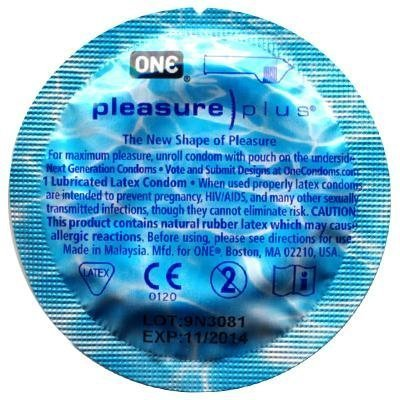 ONE Pleasure Plus Condoms 48 Pack