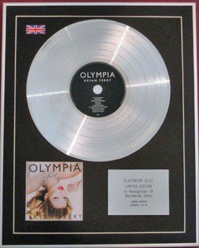 Bryan Ferry – Edition Limitée – Platine CD disc- Olympia