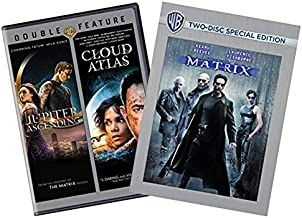 The Wachowski Director DVD Collection: The Matrix (2-Disc Special Edition) / Cloud Atlas / Jupiter Ascending