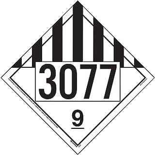 3077 Placard, Class 9 Miscellaneous - 10.75