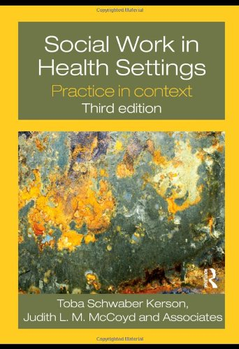 Social Work in Health Settings: Practice in Context