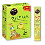 4C Powder Drink Mix | Singles Stix, On the Go | Refreshing Water Flavorings | Multipacks (Green Tea,...