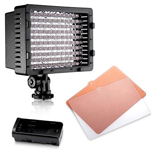 Neewer® CN-126 LED Videoleuchte Beleuchtung Dauerlicht für Kamera oder Digital Video Camcorder