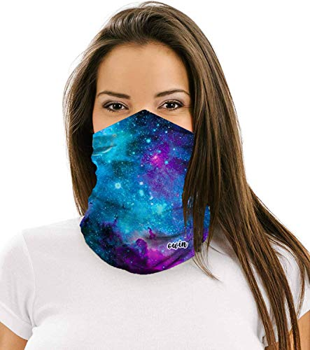 OWIN Face Mask, Unisex Multifunctional Headwear Face Scarf Balaclava Headband Neck Gaiter Reusable Washable Cloth Mask