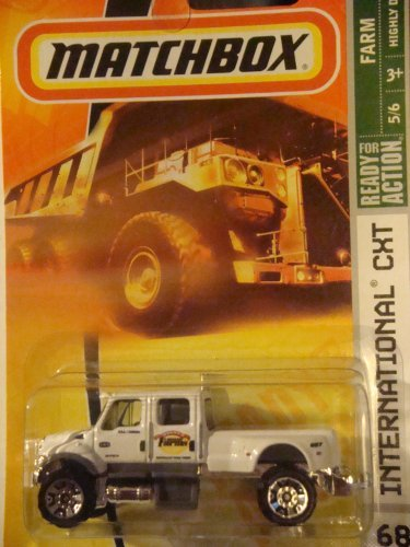 Matchbox International CXT White Highly Detailed New Style Wheels #68 2007 1/64