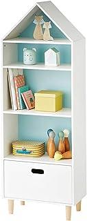 ROGF Jardin d'enfants Toy Cabinet Unité Armoire de Rangement et Salle de Classe Stockage Solution for Les Enfants autoport...
