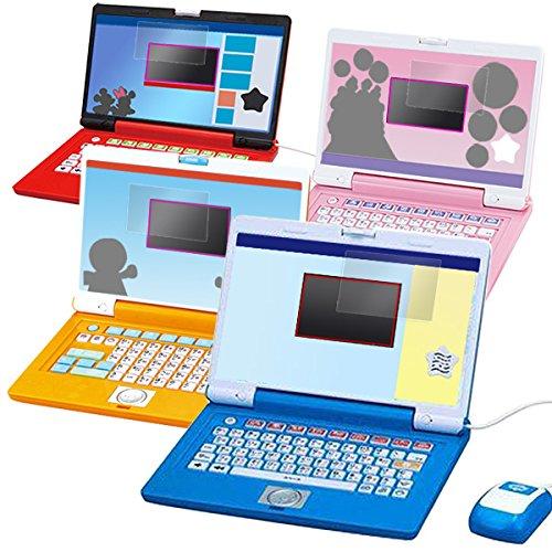 目に優しい ブルーライトカット液晶保護フィルム ドラえもんステップアップパソコン/ マウスでクリック!アンパンマンパソコン / ディズニー ワンダフルスイートパソコン / ワンダフルドリームパソコン / アンパンマン★カラーパソコンスマート 用 OverL