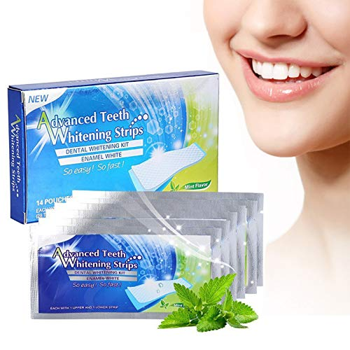 Teeth Whitening Strips,Teeth Whitening Kit, Dental Treatment,14 Pack 28 Strips Professional Whitening Teeth Strips