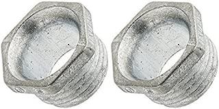 Halex 20701 2 Count 1/2-Inch Zinc Conduit Chase Nipple by Halex