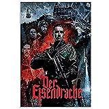 zachking Juego Call Of Duty Black Ops 3 Zombie Der Eisendrache Poster Poster Pintura Decorativa Lienzo Lienzo Arte Living Sala De Estar Pósteres Dormitorio Painti. 50x50cm Framed