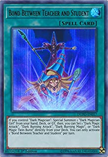 Yu-Gi-Oh! - Bond Between Teacher and Student - DUPO-EN017 - Ultra Rare - 1st Edition - Duel Power