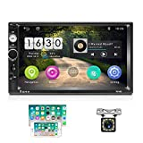 2 Din Android Autoradio GPS 2G+16G CAMECHO Touchscreen Capacitivo da 7 pollici Collegament...
