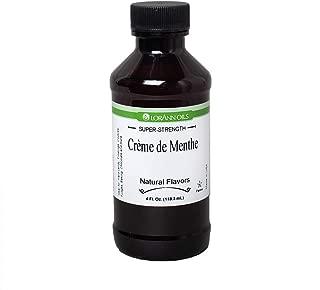 LorAnn Super Strength Crème de Menthe Natural Flavor, 4 ounce bottle