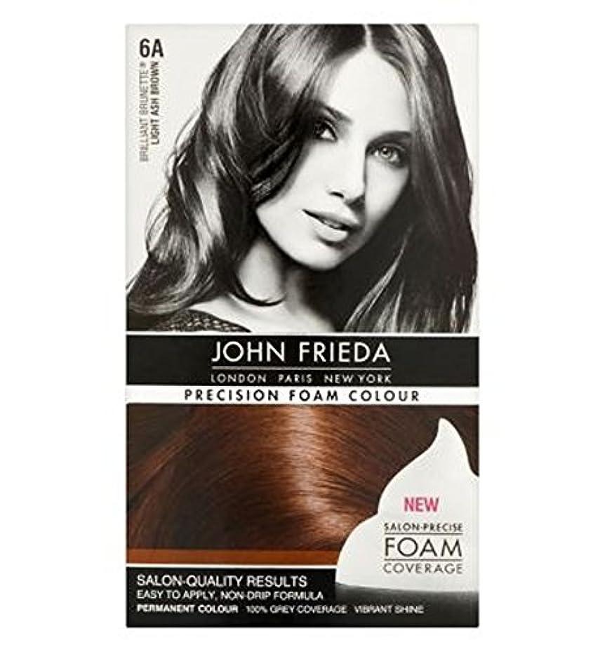 蓮マイコン周術期John Frieda Precision Foam Colour 6A Light Ash Brown - ジョン?フリーダ精密泡カラー6Aの光灰褐色 (John Frieda) [並行輸入品]