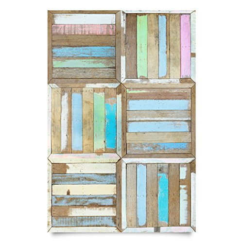 Film collant - Rustic Timber, film de bricolage, film de meuble, film de verre, film design, film décoratif, film de bois, DIY, cuisine, séjour, commodes, chambre d'enfant, Dimension: 300cm x 100cm