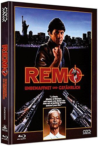 Remo - Unbewaffnet und gefährlich - uncut (Blu-Ray+DVD) auf 444 limitiertes Mediabook Cover A [Limited Collector\'s Edition] [Limited Edition]