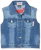 HKM - Gilet di Jeans per Bambini, Unisex - Adulto, Pantaloni, 4057052205644, Blu Jeans, 134-140