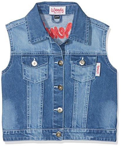 HKM Erwachsene Jeansweste-Wendy-6100 jeansblau110/116 Hose, 6100 jeansblau, 110/116