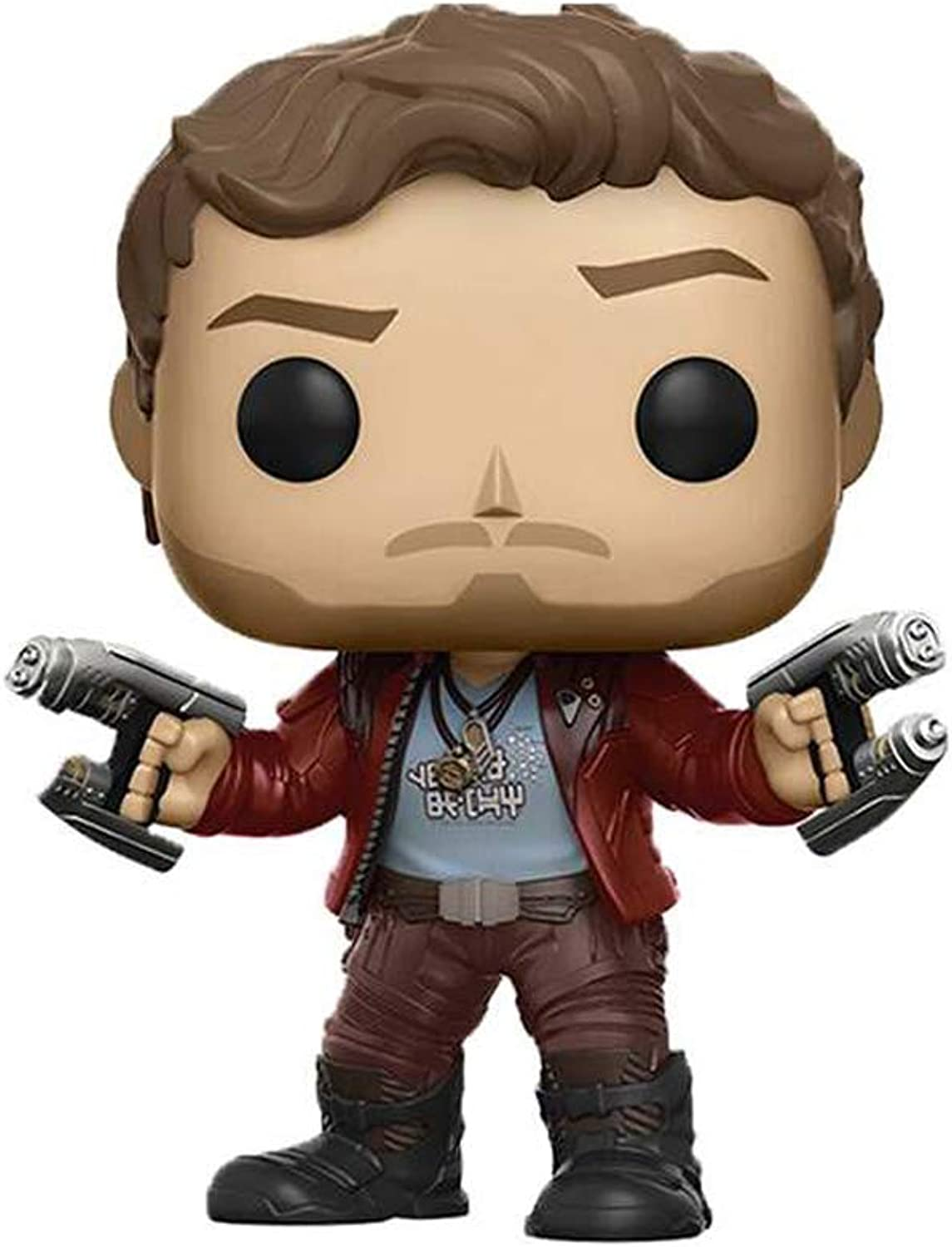 Jia He Action Figure Model  Funko Pop  Movies  Guardians of the Galaxy Vol 2  Star Lord Vinyl Figure @@ ( color   A )