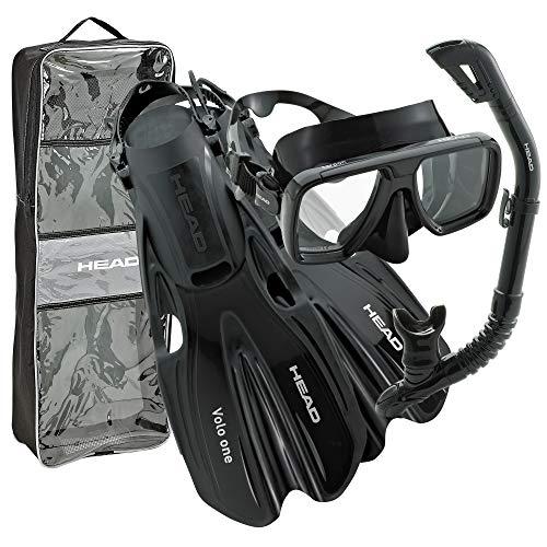 Head Tarpon/Barracuda Dry/Volo One Snorkel Set
