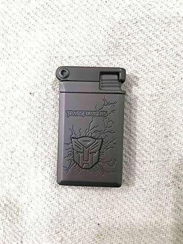 MT TRUE VALUE STORE Butane Jet Flame Metal Cigarette Lighter in Matte Finish (Small, Black Retro)