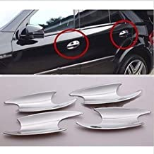 For Benz GL X164 ML-Class W164 2006-2011 Chrome Door Handle Inserts cup trims
