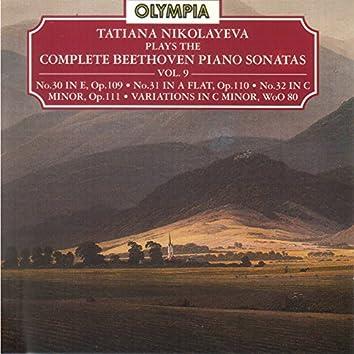 Beethoven: Piano Sonatas Nos. 30 - 32