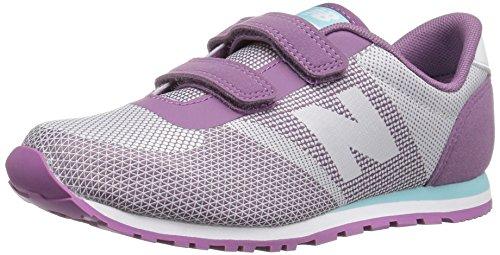 New Balance Girls' KA420 Sneaker, Purpule/White, 10 Medium US Infant