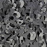 Filet de camouflage Pro CRAZY camo Noir 2,4m x 3m - Camo systems