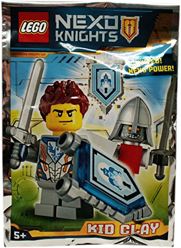Blue Ocean Lego Nexo Knights Kid Clay - Figura coleccionable