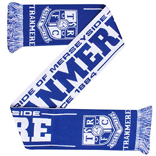 Tranmere Rovers Football Fans Scarf (100% Acrylic)
