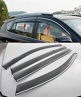 FidgetGear - Visera deflectora de Viento para Ventana de Ford Escape Kuga 2013-2018
