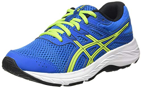 Asics Contend 6, Sneaker Unisex-Child, Directoire Blue/Lime Zest, 36 EU
