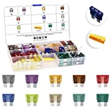 MulWark 120pc Assorted Standard Auto Car Truck Blade Fuses Set-2A 3A...