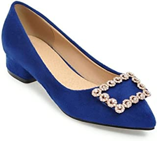 lcky Classic Pumps Professional Women's Shoes Comfortable Flat Shoes