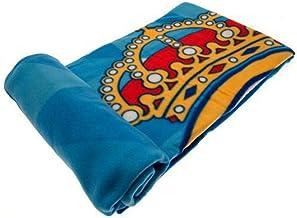 fleecedeken blauw 150 x 200 cm