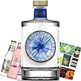 Sado Gin Gift Set, Gin-infused treats, Three unique bottles of Tonic and Name-a-Rose Gift