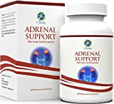 Adrenal Support - (Vegetarian) - A complex formula containing Vitamin B12, B5, B6, Magnesium, Ginger Root Extract, Astragalus Root, Schizandra Berry, Licorice & more - 30 Day Supply