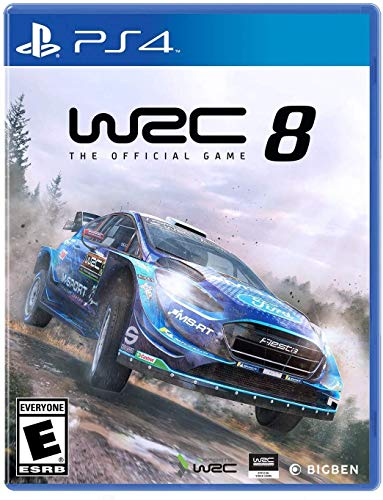 WRC 8: FIA World Rally Championship (PS4)