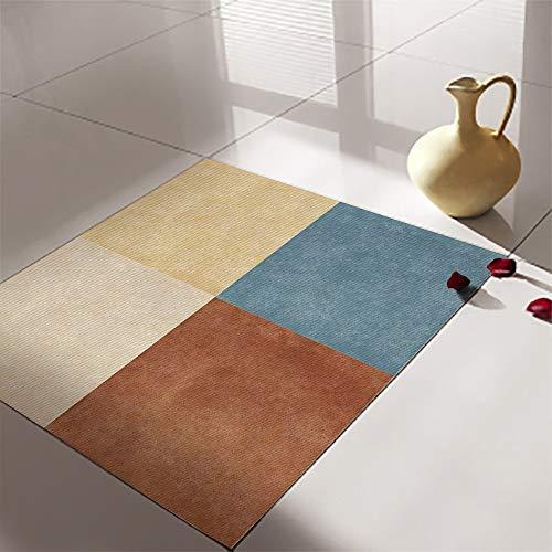 4 pegatinas autoadhesivas retro para azulejos de cocina, baño, sala de estar, removibles y despegables, resistentes al agua y a la abrasión, pegatinas de azulejos de color sólido