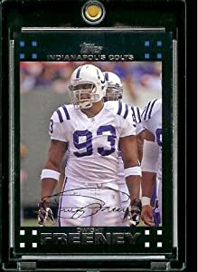 2007 Topps Football # 257 Dwight Freeney - Indianapolis Colts - NFL Trading Cards
