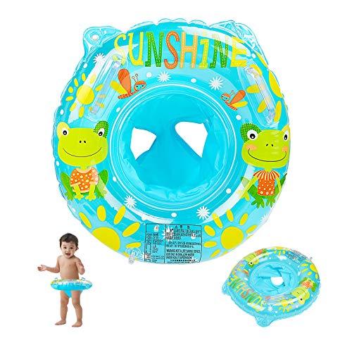 EKKONG Flotador Bebé, Anillo de natación Inflable, Anillo de natación Bebe con Asiento Anillo de Natación para 6-36 Meses