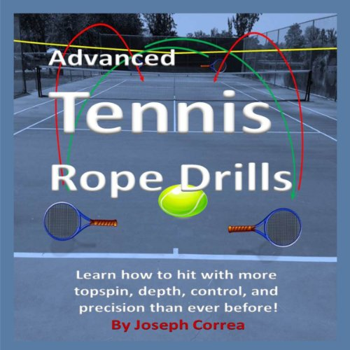 Advanced Tennis Rope Drills audiobook cover art