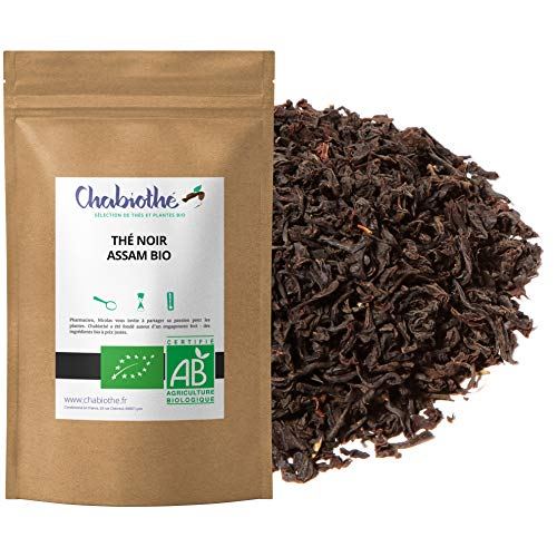 Té Negro natural Assam India BIO 200g - orgánico bolsa biodegradable